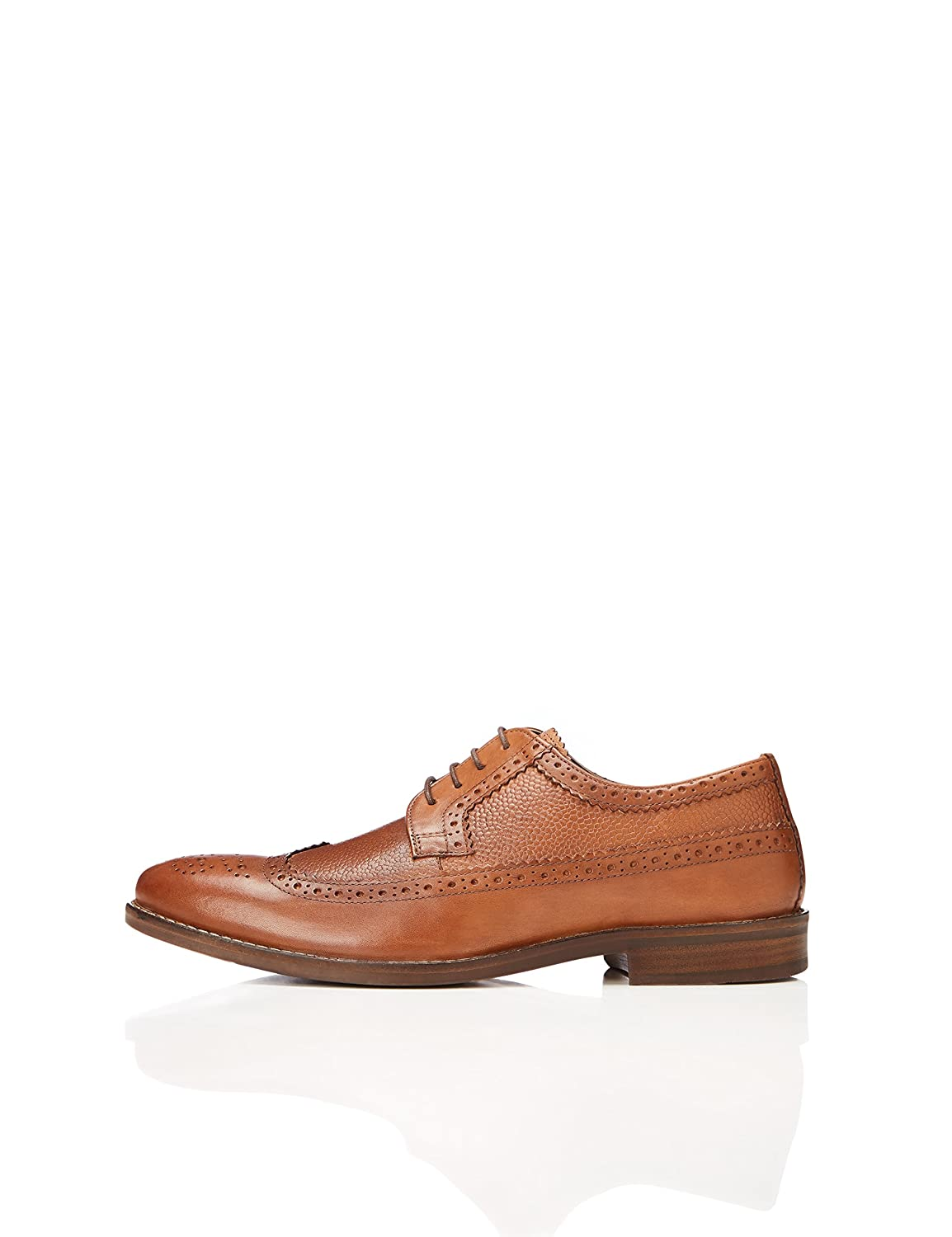 TALLA 42 EU. Marca Amazon - find. Zapatos Brogue Hombre