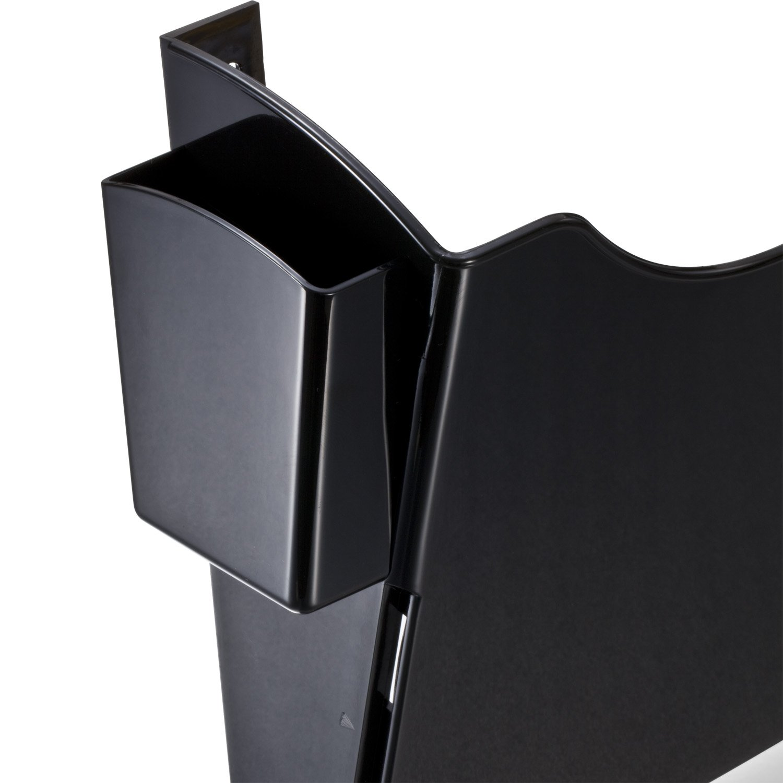 4 Pockets Officemate Grande Centrale Filing System UPU1037 21728 Black