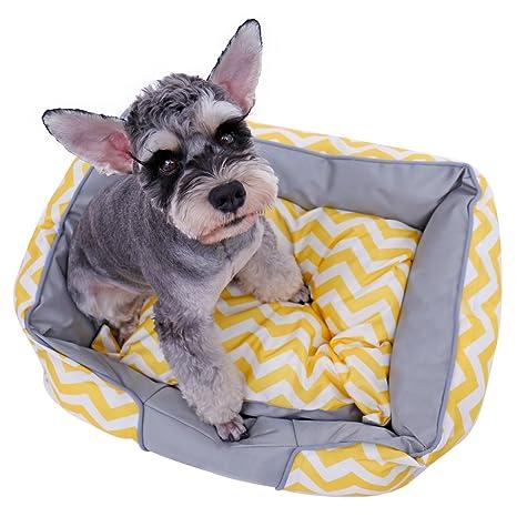 Xinanlongjb Cómodo sofá Respirable para Cama de Mascota Perro Lona casa extraíble cojín Cachorro Gato Cueva