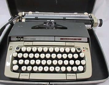 Maquina escribir corona