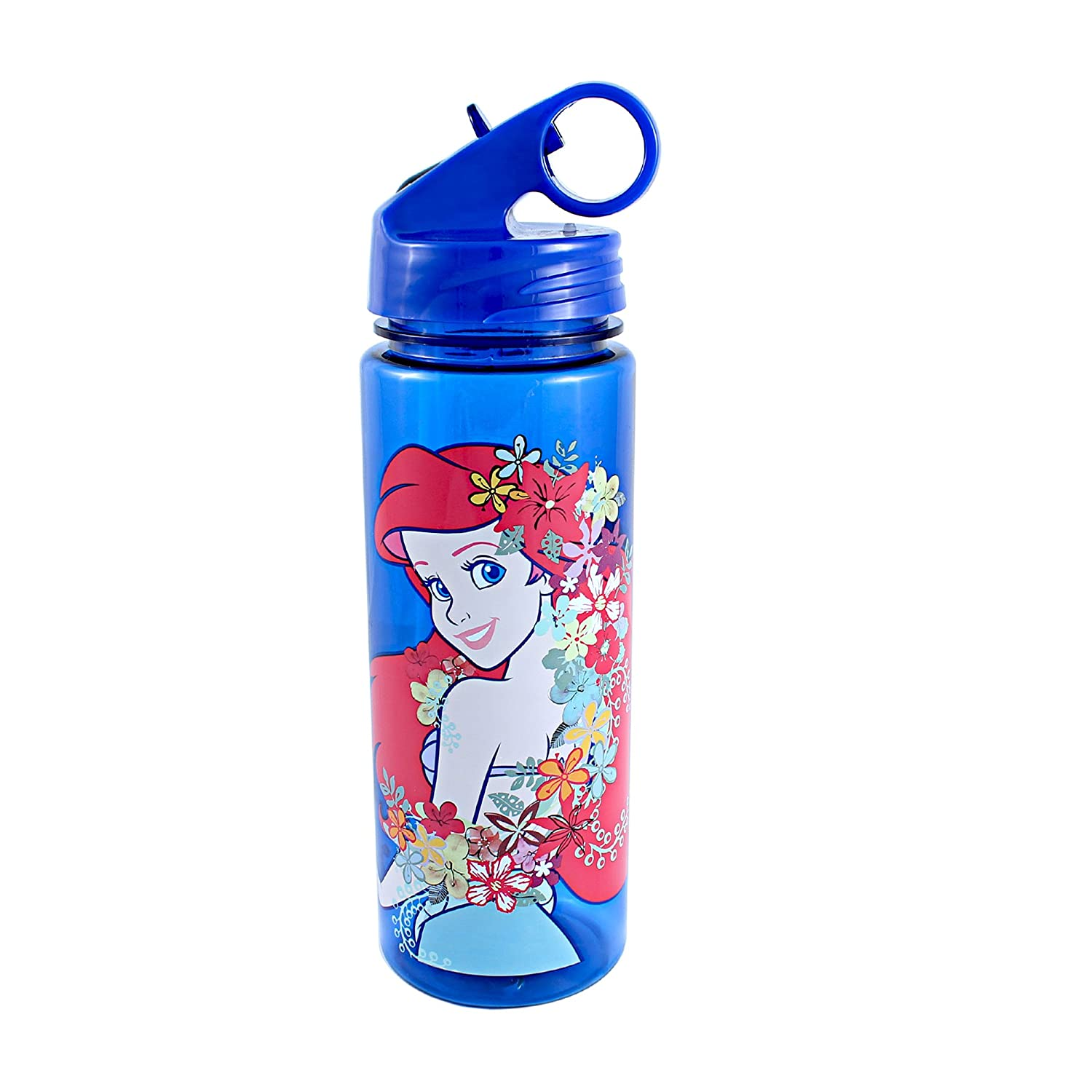 c5ba3af200 Silver Buffalo DQ7564 Disney Little Mermaid Pose BPA-Free Tritan Water  Bottle, 20 oz., Blue: Amazon.co.uk: Kitchen & Home