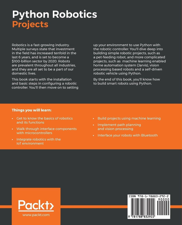 Python Robotics Projects - Livros na Amazon Brasil