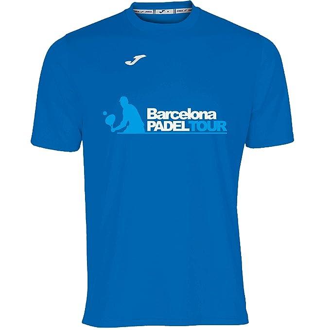 Barcelona Padel Tour Camiseta Manga Corta Técnica Joma Hombre