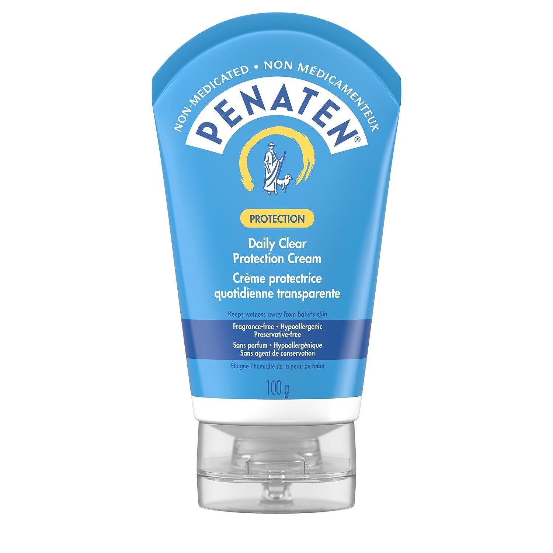 Penaten Daily Protection Cream Against Diaper Rash, Non Medicated, Hypoallergenic, Vitamin E, 100g