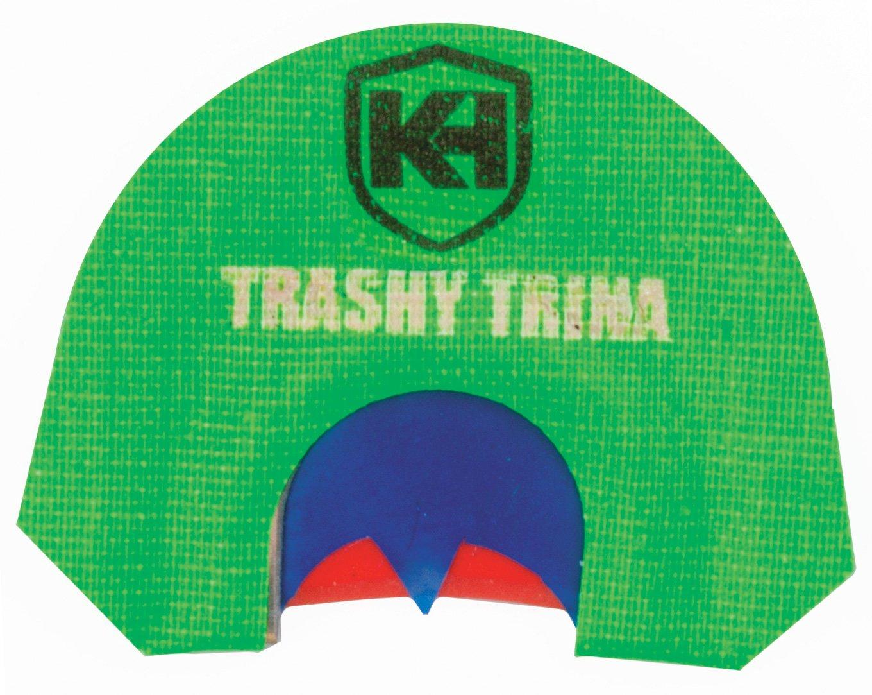 Knight & Hale Trashy Trina Diaphragm Call Trashy Trina Triple Reed Batwing Cut Diaphragm Turkey Call
