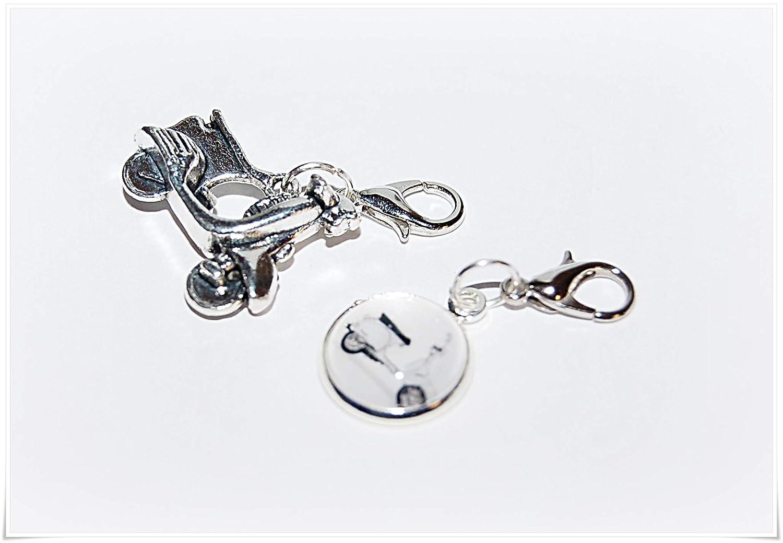 Anh/änger Charms Roller Vespa Adventskalender