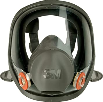 3m gas mask full face