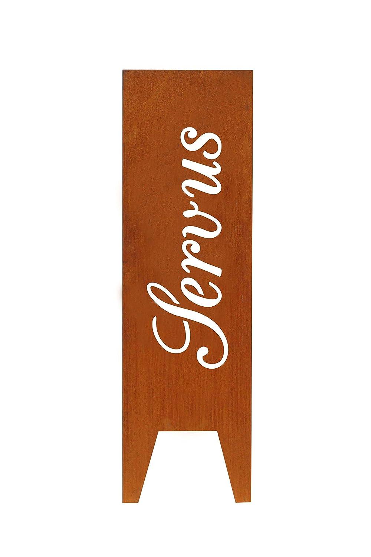 sconti e altro Gartenboutique24    Stele in acciaio CORTEN Seraphin, servus  tutti i prodotti ottengono fino al 34% di sconto