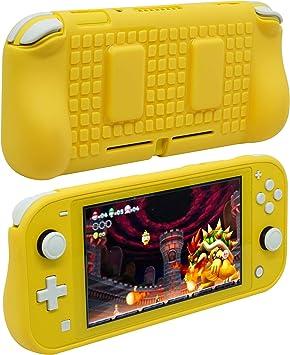 ButterFox - Carcasa de TPU para Nintendo Switch Lite con 2 ...