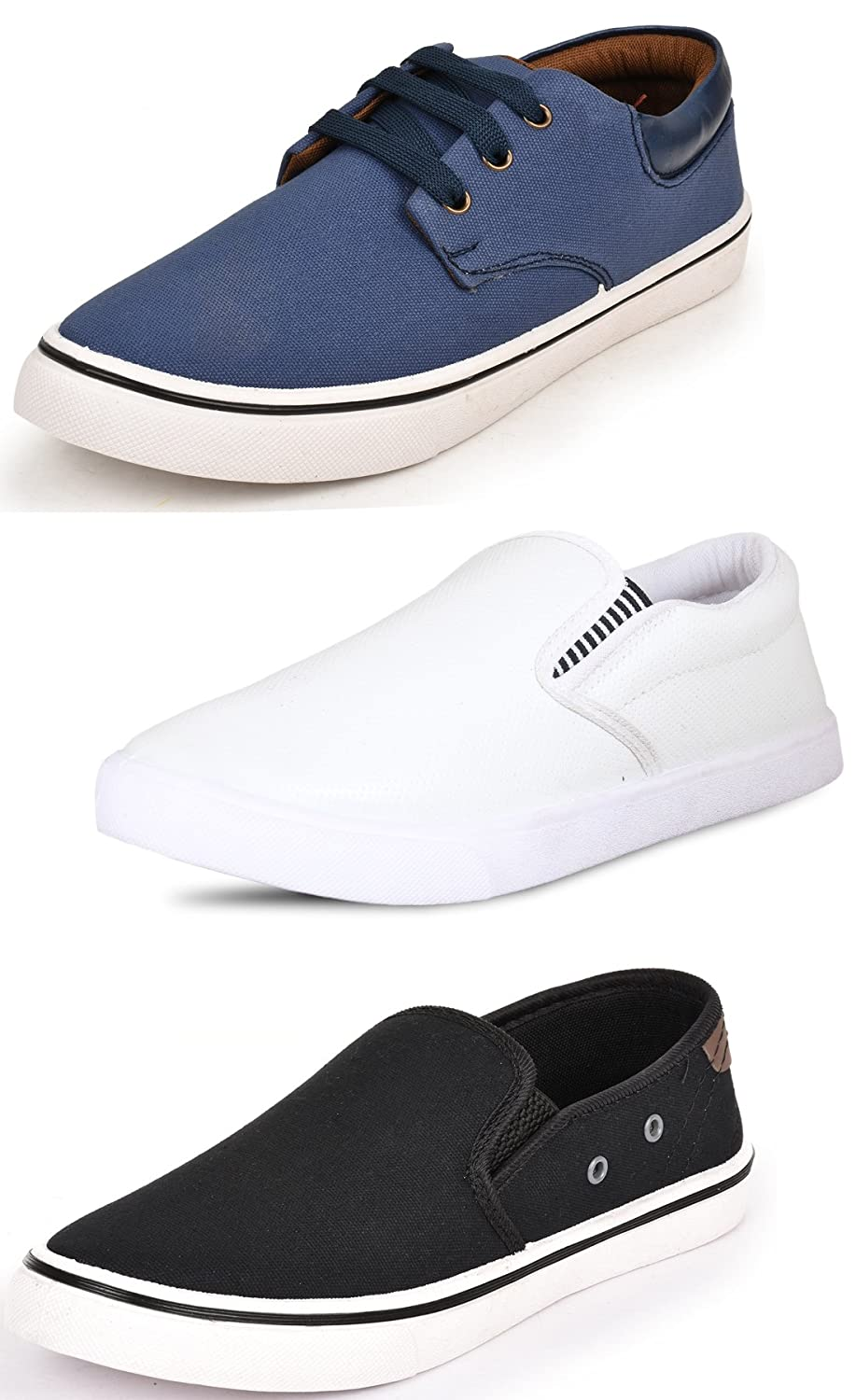 Scatchite Pack of 3 Casual Shoes
