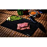 Defrosting Tray (Largest Size) for rapid thaw - Best kitchen thawing tray - Better than heating tray - Safe to defrost…