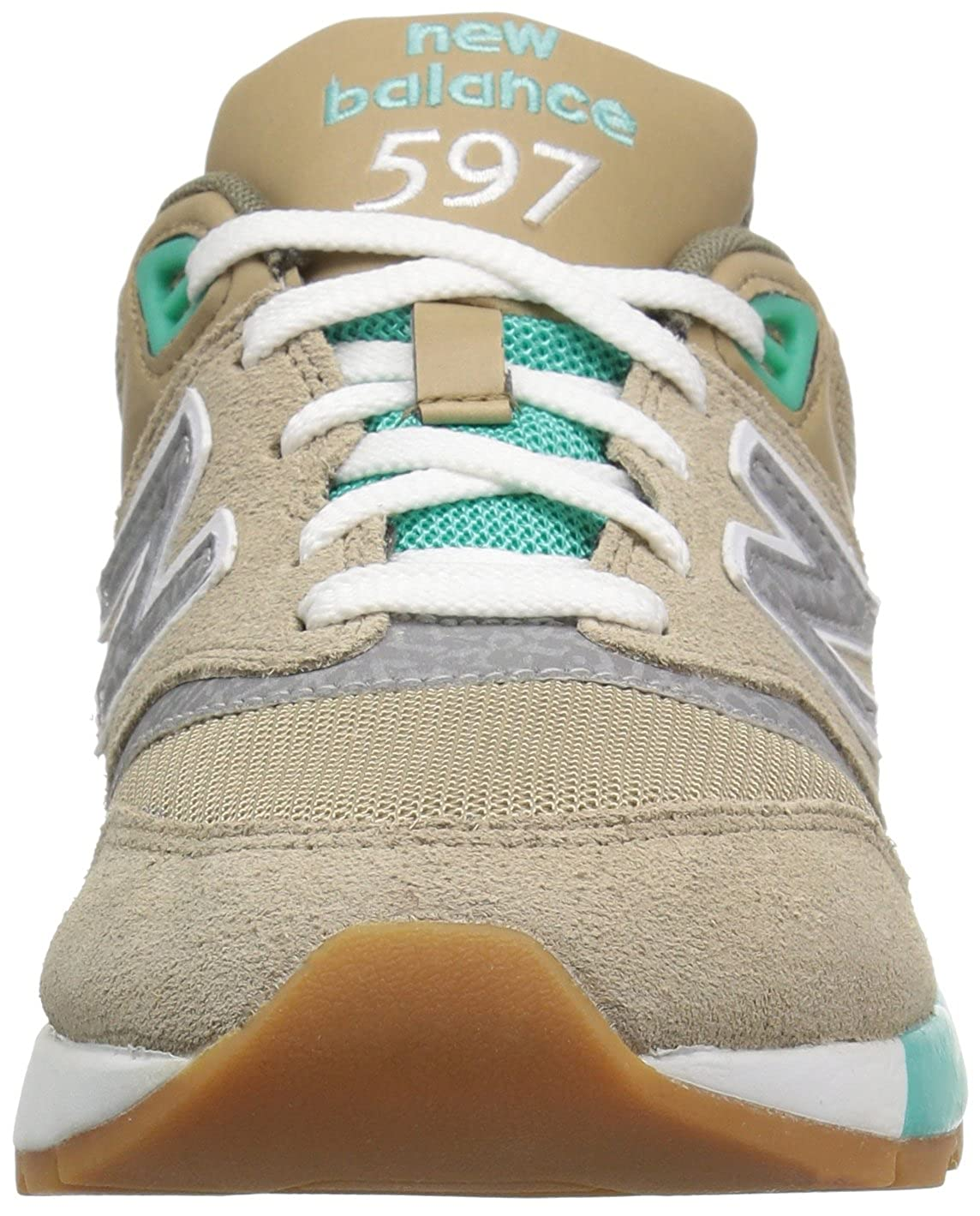 New Traditional Balance Men's ML597 90's Traditional New Fashion Sneaker Beige b13c87
