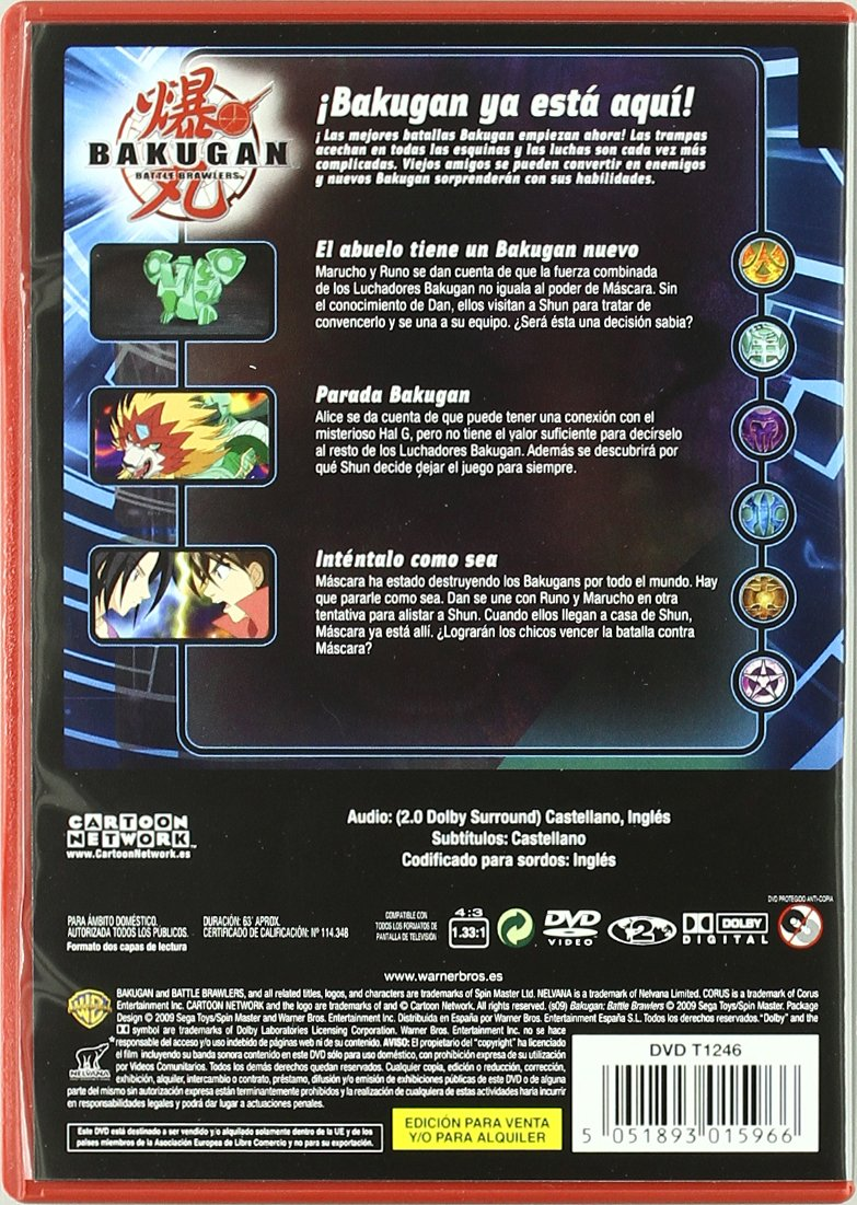 Amazon.com: Bakugan Temp.1 Vol.4 (Import Movie) (European Format - Zone 2) (2009) Varios: Movies & TV