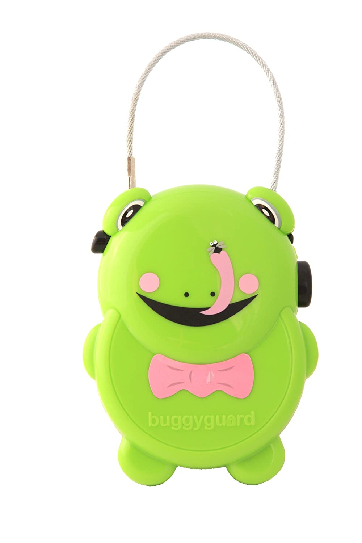Buggyguard Retractable Pram Lock Frog Nikiani Inc BGPIGGY1