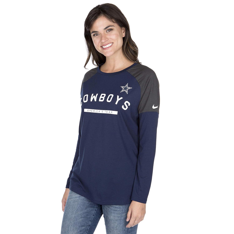 pretty nice bcd9e f606e Amazon.com : Dallas Cowboys NFL Womens Nike Long Sleeve ...