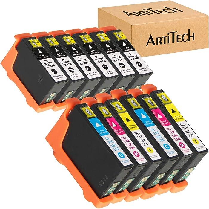 Top 10 Dell Series 31 Black Ink Cartridges