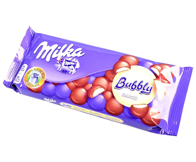 Milka - Bubbly Blanco 95 g