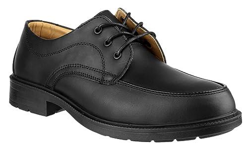 Amblers - Zapatos de cordones de piel para hombre negro negro 7 dfuOL
