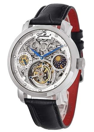 best loved 75cef 3eab1 Amazon | Gallucci(ガルーチ) イタリアブランド 機械式腕時計 手 ...