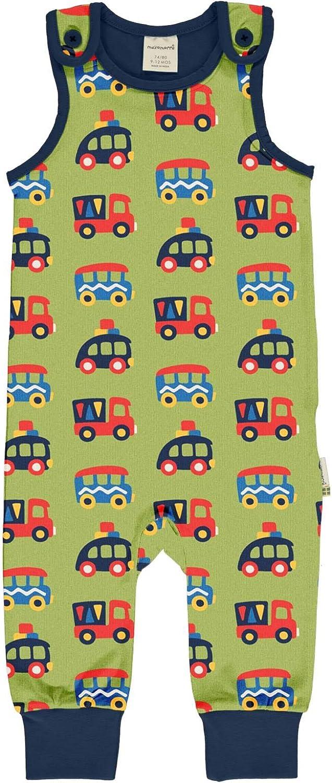 Maxomorra Baby Jungen Strampler Colourful Cars
