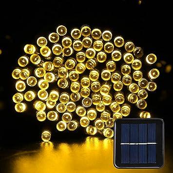 Solar Lichterkette Außen Novopal Solar Lichterkette Garten 100er