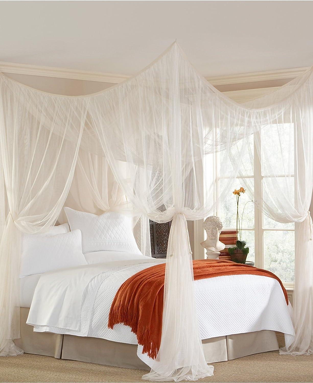 - Amazon.com: Mombasa Majesty Classic Bed Netting/Canopy, White (76