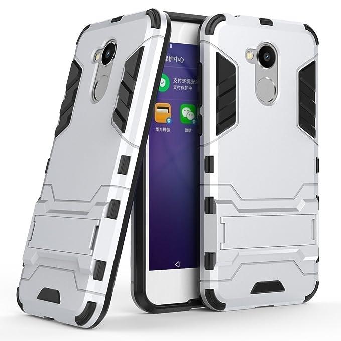 73 opinioni per Huawei Honor 6A Cover,bdeals 2in1 Dual Layer Ibrida [Kickstand Series] Morbido