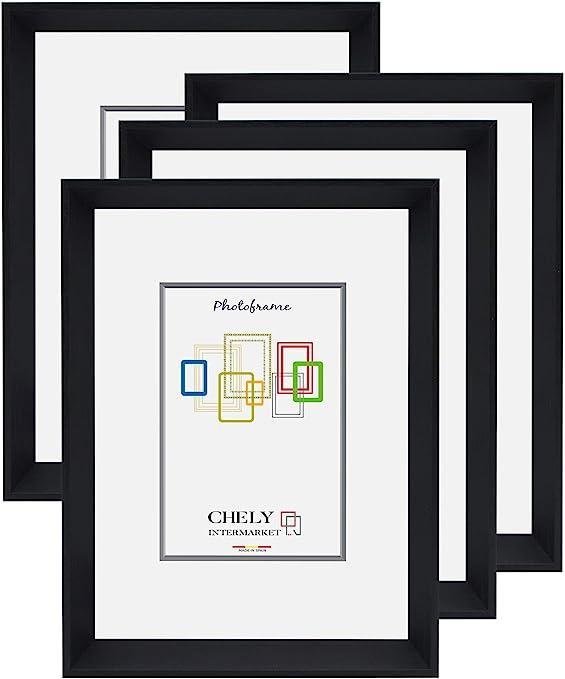 Chely Intermarket, Marco de Fotos 13x18 cm (Negro) MOD-3500 (Pack ...