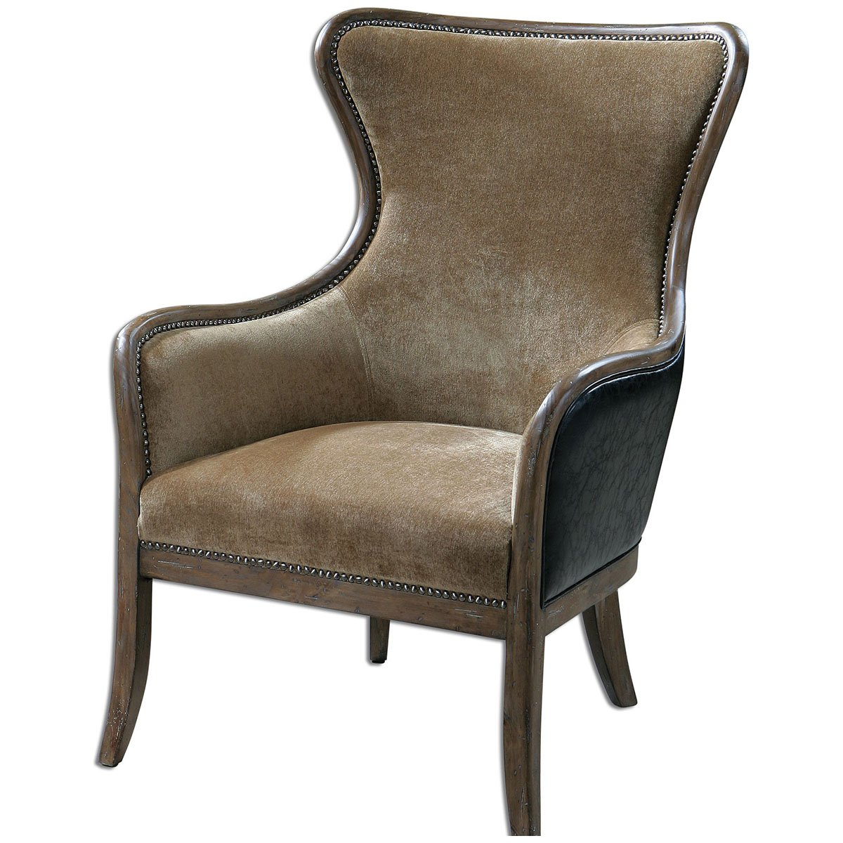 chair gracie deco royal chairs product wing home blue kuo detail velvet art kathy classic