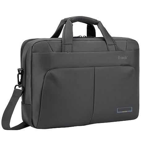 maletines para portátiles Brinch Bolso Bandolera para portátil, multi-scomparto elegante y documentos bolsa