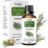 VSADEY Aceite Esencial de Árbol de Té 50ml, Orgánico 100% Puro y Natural Aceite de Arbol de Té Aceites Esenciales Tea…