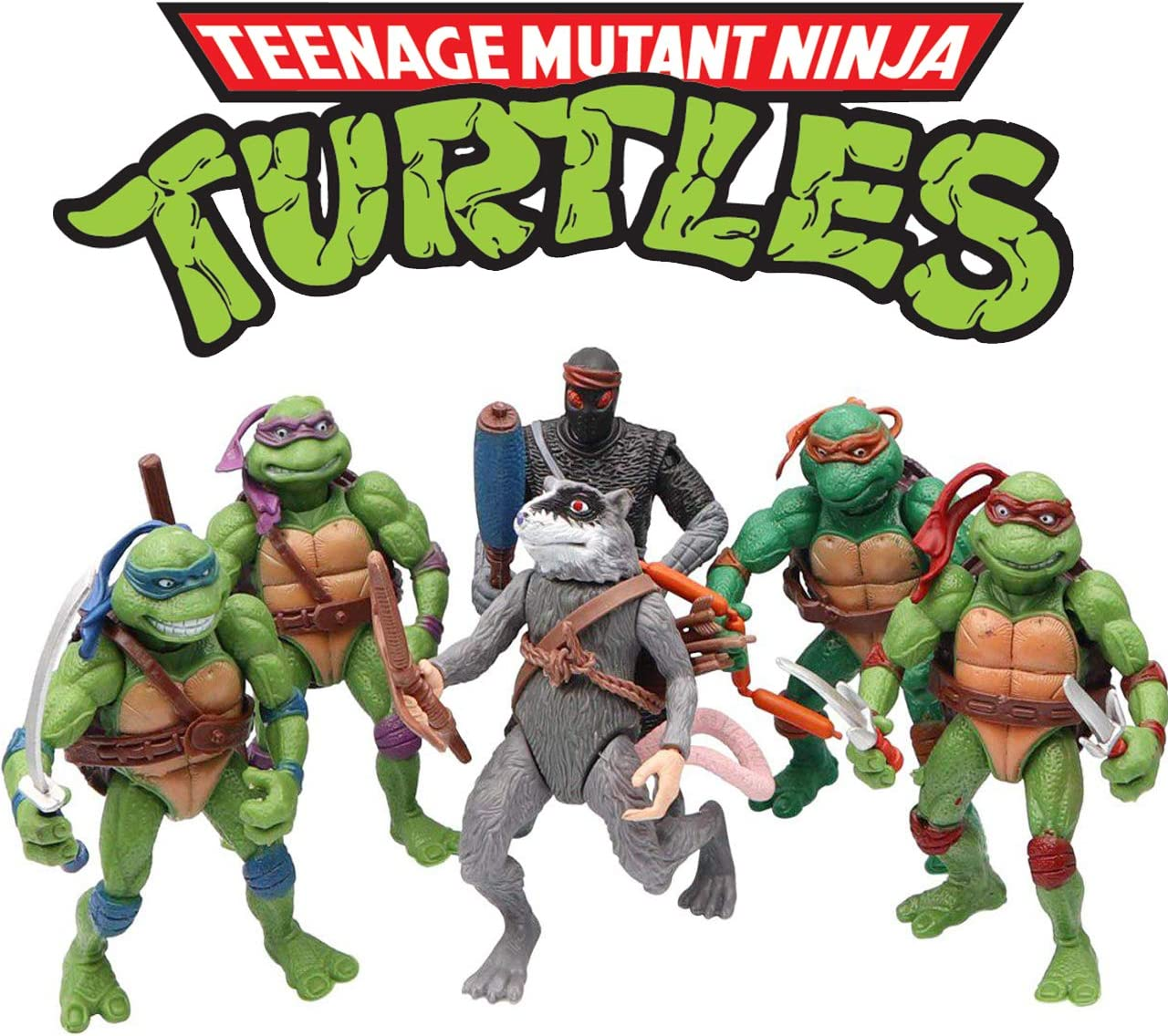 VITADAN Ninja Turtles 6 PCS Set - Teenage Mutant Ninja Turtles Action Figure - TMNT Action Figures - Ninja Turtles Toy Set - Ninja Turtles Action Figures Mutant Teenage Set