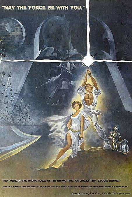 Amazoncom Star Wars Episode Iv 4 Quotes Classic Old Movie Film