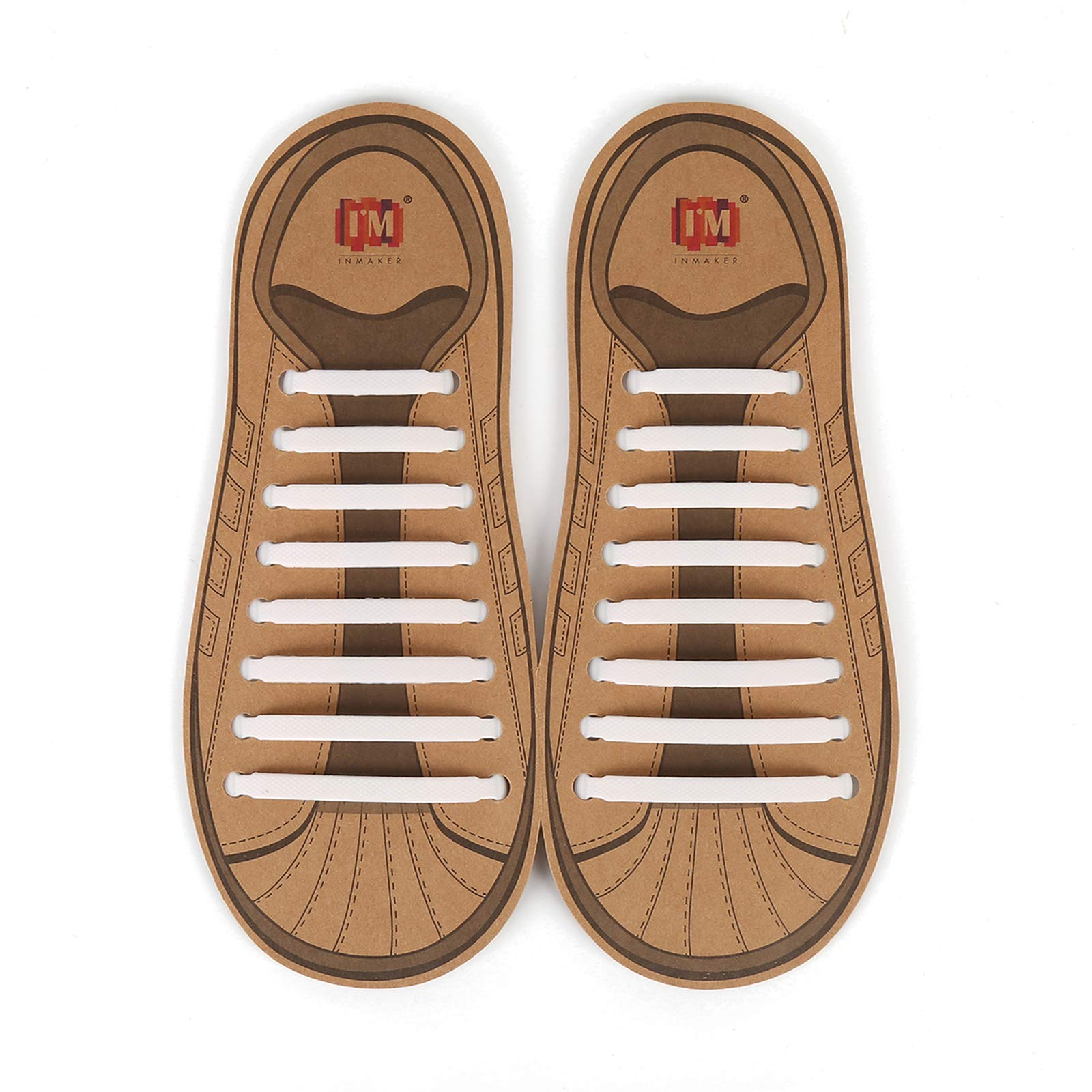 INMAKER No Tie Shoelaces for Kids and