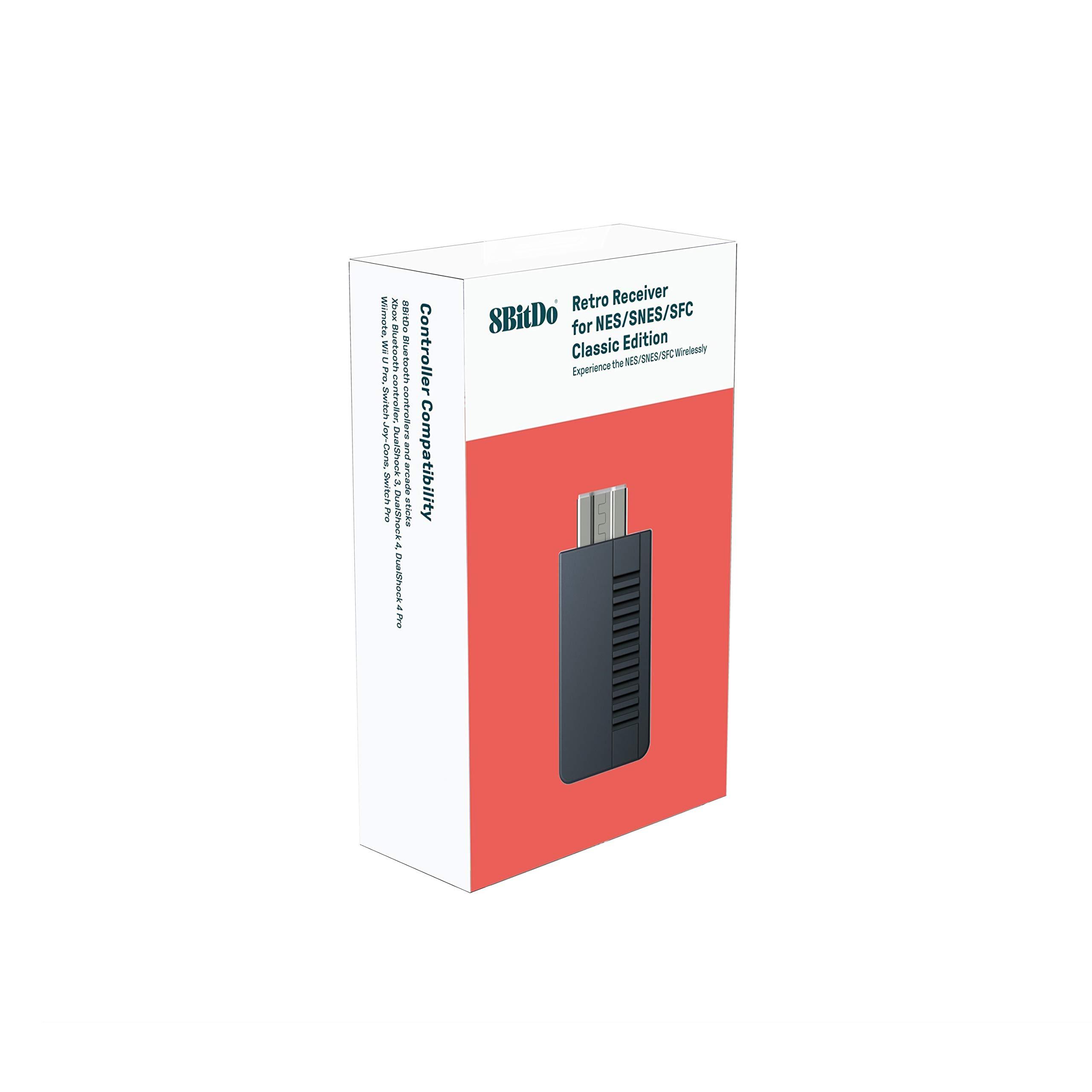 8Bitdo SN30 2.4G Wireless Controller for SNES Classic Edition [nintendo_super_NES] by 8Bitdo (Image #3)