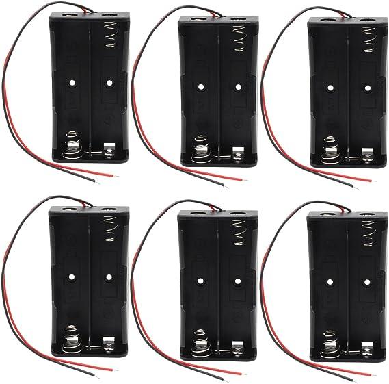 3pcs unique plastique BLN 26650 support piles stockage Boîte Case noire