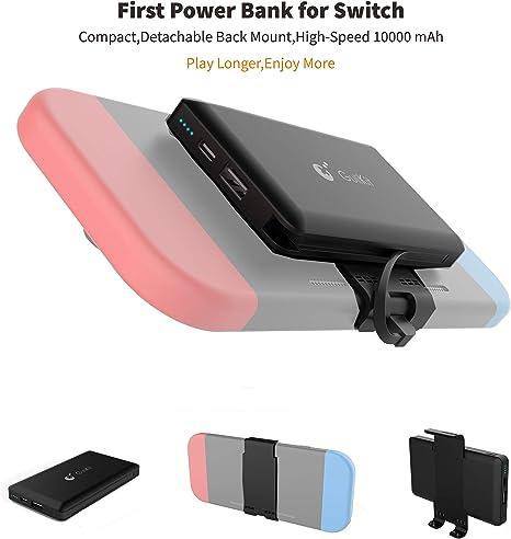 Gulikit Power Bank Compatible con Nintendo Switch Respaldo de ...