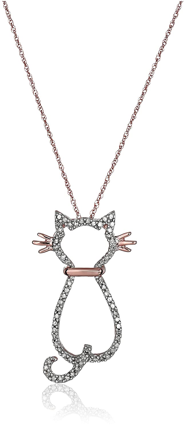 cute product hanging club purrfectly playful animals platinum necklace cat