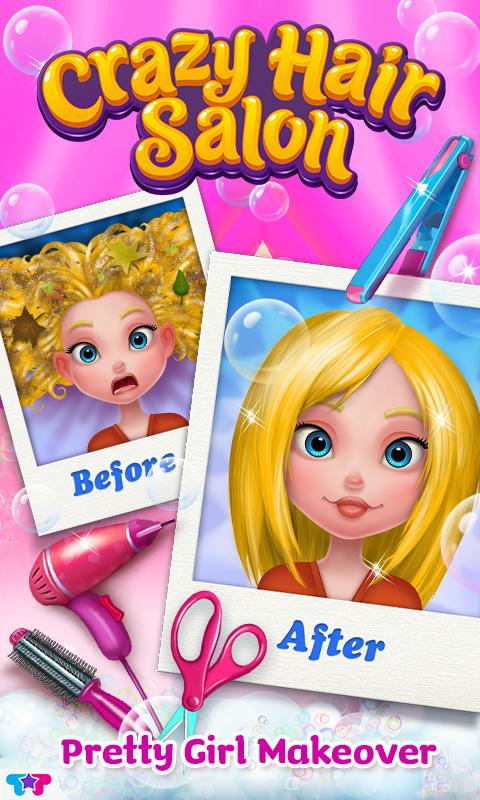 Amazon.com: Crazy Hair Salon - Pretty Girl Makeover ...
