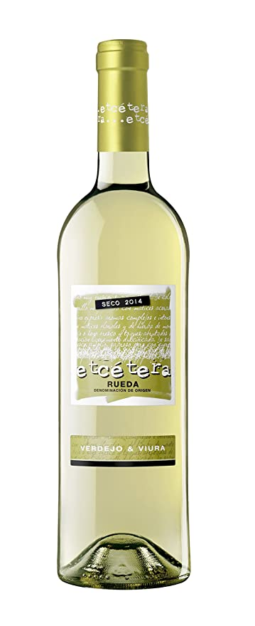 Etcetera - Vino Blanco Seco Botella - 750 ml