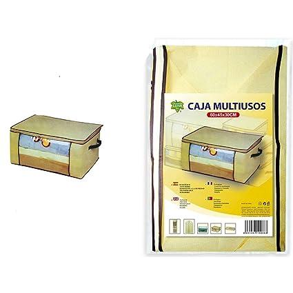 5 cajas ropa guardarropa Box TNT con ventana de pvc armario 60 x 45 x 30