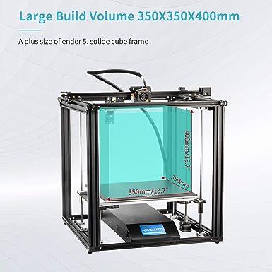 Creality Impresora 3D Ender 5 Plus con BLTouch, Placa de Vidrio y ...