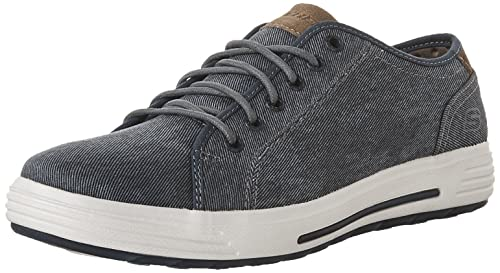 Skechers Men Navy 'Porter Mento' Lace Up Trainers From Debenhams ...