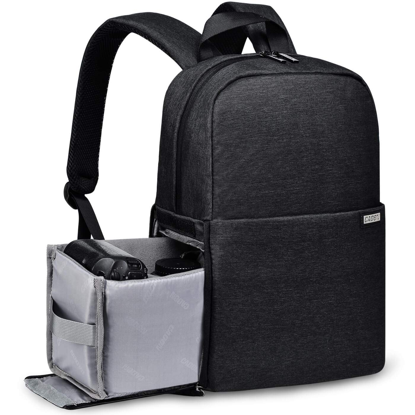 CADeN Waterproof Camera Bag Backpack DSLR Case for Women Men Anti Theft Photography and Casual Travel Bag for Canon Nikon Sony Tripod