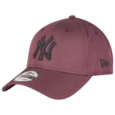 f7bb4531d89 New Era 9Forty Ripstop Cap - MLB New York Yankees maroon  Amazon.co ...