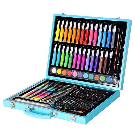 Kanqingqing Caja Colores Niños Conjunto de Dibujos de Arte ...
