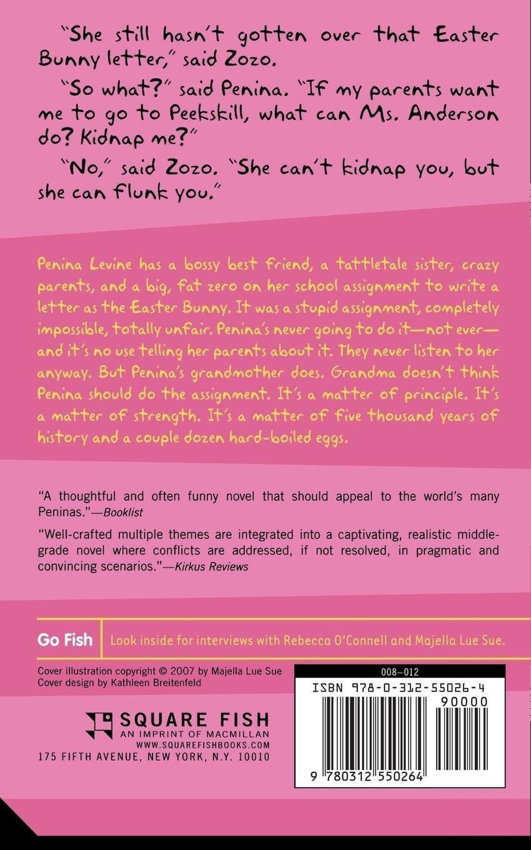 Penina Levine Is a Hard-boiled Egg: Rebecca O'Connell, Majella Lue Sue:  9780312550264: Amazon.com: Books