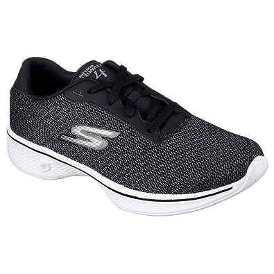 Skechers Black 'Go Walk 4 Glorify' trainers | Debenhams