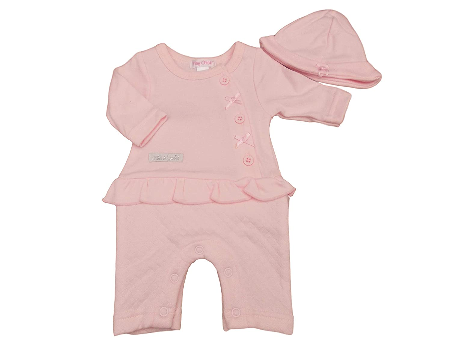 Baby Chick Premature All in one Romper Suit /& Hat Set