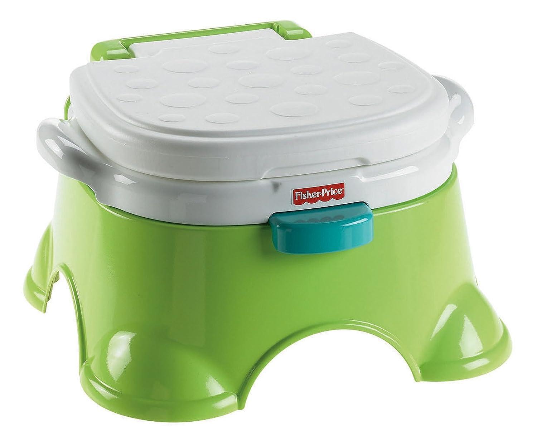 Fisher Price Royal Potty Chair - Amazon com fisher price royal stepstool potty green toilet training potties baby